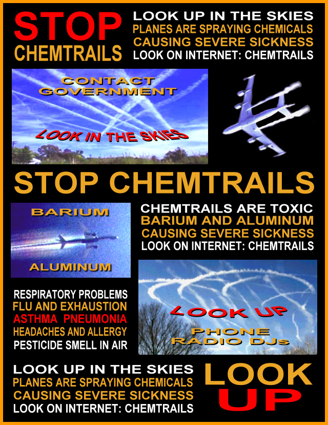 Chemtrails Poster